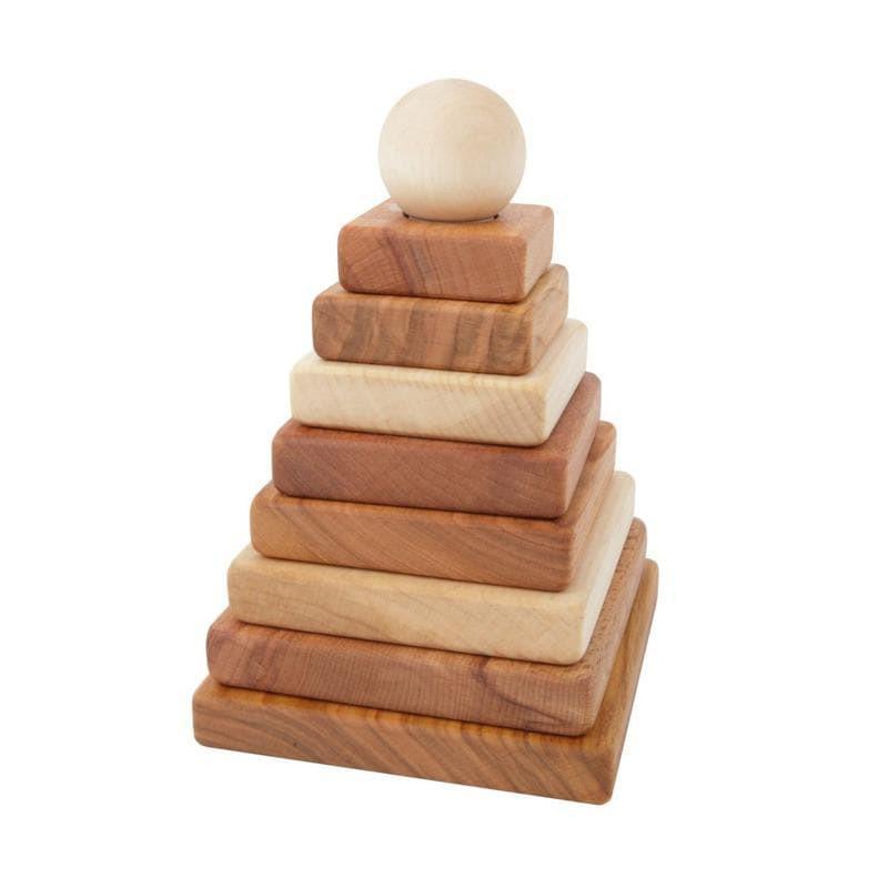 Wooden Story Stapelturm