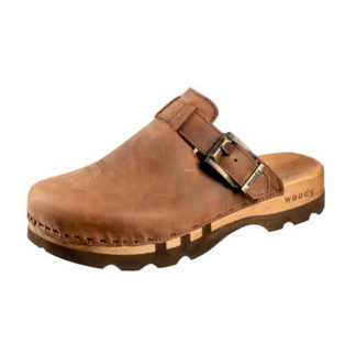 Woody Holzschuhe Lukas Tabacco