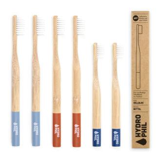 Zahnbürste Aus Bambus Familien Packung