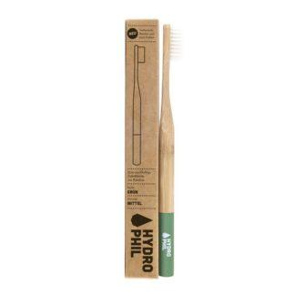 Zahnbürste Aus Bambus Mittelweich 1 Stück